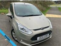 2014 Ford B-MAX 1.5 ZETEC TDCI 5d 74 BHP ** DIESEL....YES ONLY COVERED 23,194 MI