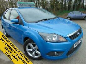 image for 2008 Ford Focus 1.6 ZETEC 5d 100 BHP Hatchback Petrol Manual