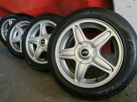"16"" mini cooper mini one alloy wheels and tyres"