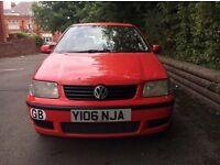 2001 Volkswagen Polo 1.4 5 Door Hatchback ***EXCELLENT RUNNER***
