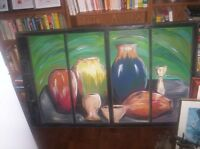 Painting on Glass (local artist)