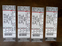Madonna Tickets - 4 Tickets in a Row