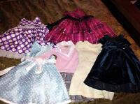 5 Fancy Pretty Dress **JUST LIKE NEW!**