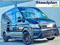 2021 BRAND NEW MAN TGE AUTOMATIC MWB AUTO BLACK EXTERIOR STYLE PACK VW CRAFTER