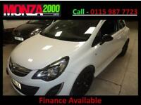 VAUXHALL CORSA 1.2i 16v 85ps LIMITED EDITION a/c NIL DEPOSIT FINANCE WARRANTY