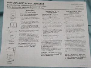 Kimberly-Clark Professional Toilet Seat Cover Dispenser 09506-20 Stratford Kitchener Area image 8