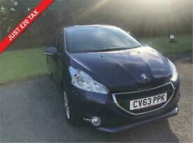 image for 2014 63 PEUGEOT 208 1.2 ACTIVE 3D 82 BHP