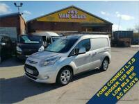 2017 67 FORD TRANSIT CONNECT T 200 LIMITED P/V 120 BHP LOW MLS 73K ONLY DIESEL