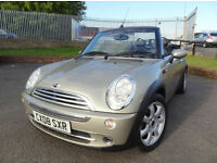 2008 Mini 1.6 Cooper Convertible (116bhp) - ONLY 34000mls - KMT Cars