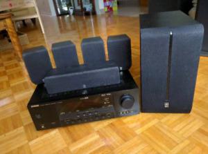 Yamaha 5.1 home receiver system
