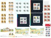 "Lot de timbres de collection valeur ""PERMANENT"" (0.85$)"