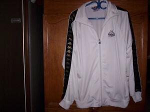 #TelusHelpMeSell - Men's X-Large White Kappa Tracksuit Jacket