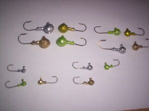 BULK round jig head offer 5/8oz,3/4oz,1oz sizes Windsor Region Ontario image 3
