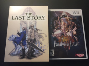 The Last Story and Pandora's Tower Nintendo Wii