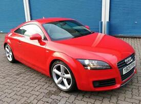 Audi TT Coupe 2.0T FSI 6 Speed S Line Special Edition 1 Owner 27k Miles Only