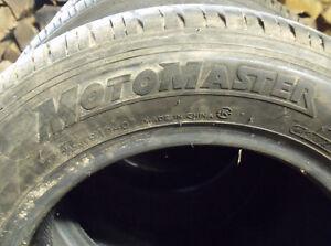 4 x P195/60R14 Motomaster AW/H All Season Tires Kawartha Lakes Peterborough Area image 2