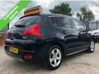 2010 Peugeot 3008 1.6 EXCLUSIVE 5d 155 BHP Hatchback Petrol Manual