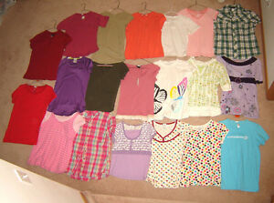 Girls Tops, Pants, Jackets, Dresses, etc. - sz 10,10/12, 12, M,L Strathcona County Edmonton Area image 3