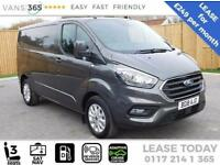 Ford Transit Custom LEASE NEW Shape LIMITED Custom CREWVAN Limited AUTO 170ps SW