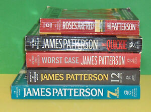 Lot of 5 James Patterson  Soft Cover Pocket Books Belleville Belleville Area image 2