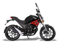 WK Bikes Demon 125cc-Learner Legal- Brand New 2020