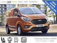 Ford Transit Custom NEW Shape