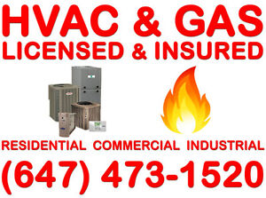 Licensed & Insured (HVAC & GAS) >>>>>>>>>>>>>>>Free Estimate Oakville / Halton Region Toronto (GTA) image 1