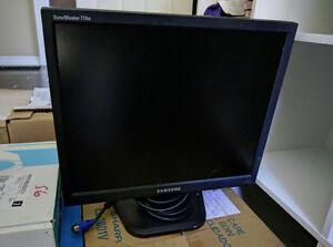 Samsung Computer Monitor SyncMaster 710N