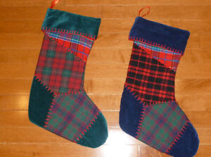 PIER 1 IMPORTS - Pair of Holiday Stockings