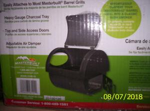 Masterbuilt Firebox Attachment - Never used, Still in Box
