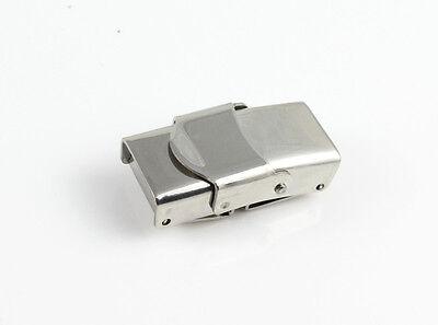 Edelstahl Verschluss - poliert - ID 10 x 3 mm - armband herstellen schmuck