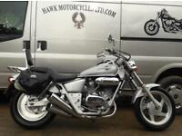 STUNNING LITTLE 1995 HONDA VT250 MAGNA V TWIN RARE IN THE UK, LOW MILES, BAGS