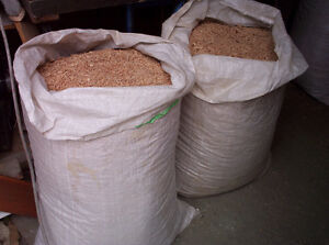 Wood Planer Shavings Mixed 45 gallon Bag