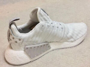 2d018575c Adidas NMD R2 White Primeknit Women