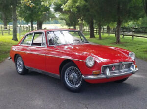 Good Condition MGB GT