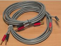 Linn K20 speaker cable pair - each 2.65m long
