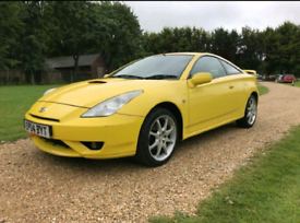 Toyota Celica Mk7 VVTLI Breaking for parts – 2004 plate – Yellow