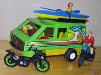 CAMPEUR et ACCESSOIRES¨Fisher Price¨1960-70 CAMPER & ACCESSORIES