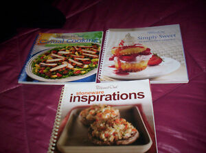 Pampered Chef casual cooking,stoneware inspirations,simply sweet