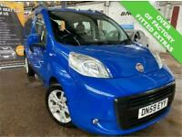 FIAT QUBO 1.2 MULTIJET AUTOMATIC AUTOMATIC EASY WHEEL CHAIR ACCESS