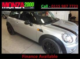 MINI MINI 1.6 ( 120bhp ) COOPER 3 MONTH WARRANTY NIL DEPOSIT FINANCE AVAILABLE