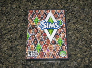 THE SIMS 3 FOR PC AND MAC COMPLETE WITH CODES DVD