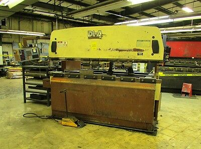 90 Ton Di-acro Promecam 80-25 Cnc Hydraulic Press Brake Model 80-25