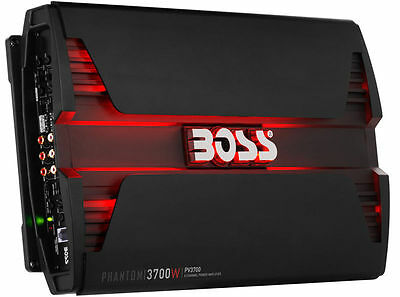 BOSS AUDIO PV3700 3700W 5 CHANNEL AMPLIFIER CAR STEREO SPEAKER+SUB SUBWOOFER AMP