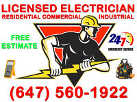 Licensed & Insured Electrician >>>> Free Estimate>>>>Affordable