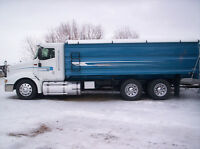 2007 International 9200 (ultra shift) w/new 20' CBI grain box