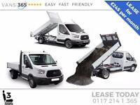 Ford Transit LEASE DEAL NEW 130ps 'One Stop' alloy Tipper £245+VAT PM