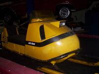 Barn Find 69 Olympic 335 Unrestored Original Hot Rodded sled