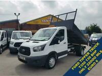 2017 17 FORD TRANSIT T350 130 BHP TIPPER 1 OWNER ONLY 22OOO MLS