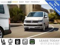 VW Transporter LEASE DEAL NEW T6 T28 HIGHLINE 102 PS MANUAL PANEL VAN £229+